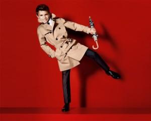Filho de Beckham estreia-se como modelo Burberry