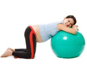 Equipamento essencial para uma grávida em forma