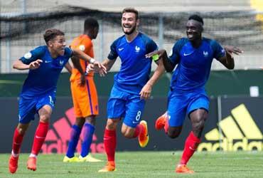 Euro U19 - L'Equipe de France qualifiée pour la finale