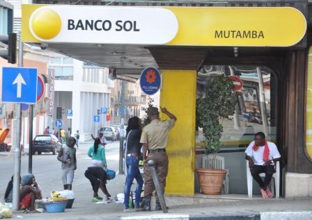 Agência do Banco Sol na Mutamba