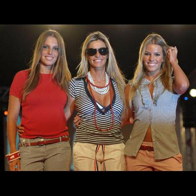 Cinha Jardim e as suas duas filhas, Pimpinha, de 24 anos, e Isaurinha, de 16, foram as estrelas do desfile Modalfa Fashion Dream, em Braga. Brilharam também na passerelle a actriz Mariana Monteiro e a manequim Olga Diegues. Veja as fotos!
