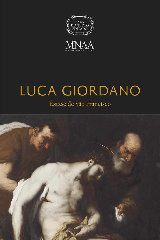 Catálogo de exposição Luca Giordano Êxtase de São Francisco Sala do Tecto Pintado