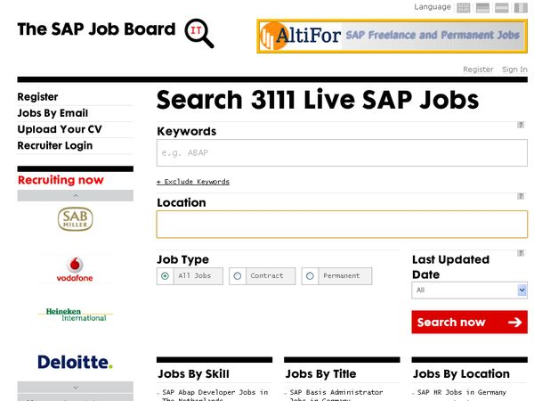 SAP Jobs
