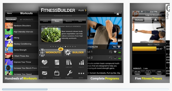 fitness builder