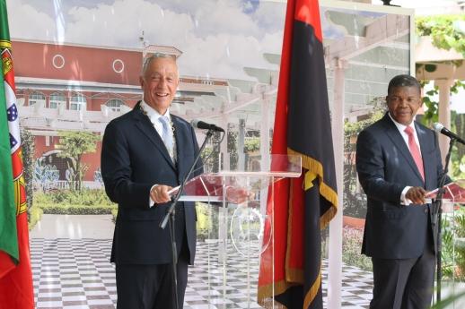 Verdadeira festa em Angola, acolhe Presidente português