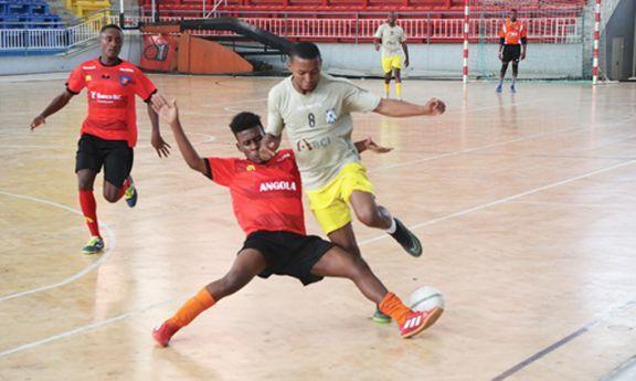 Selecção de futsal defronta a Zâmbia  7235b5d19c3d1