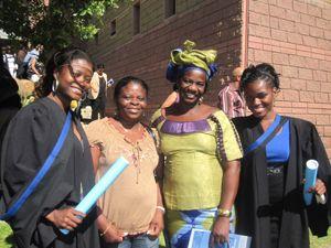 Angolanos graduados na África do Sul