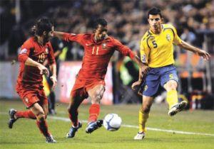 """Selecções de Portugal e da Suécia jogam amanhã a primeira mão do """"Play-off""""  de acesso ao Campeonato do Mundo do Brasil ce5e4b2cc4590"""