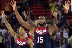 Estados Unidos são o grande favorito à conquista de mais um título mundial  de basquetebol que hoje termina em Espanha 03e3474e5b516