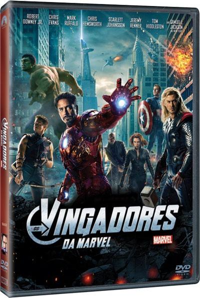 Os Vingadores - Ganhe o DVD