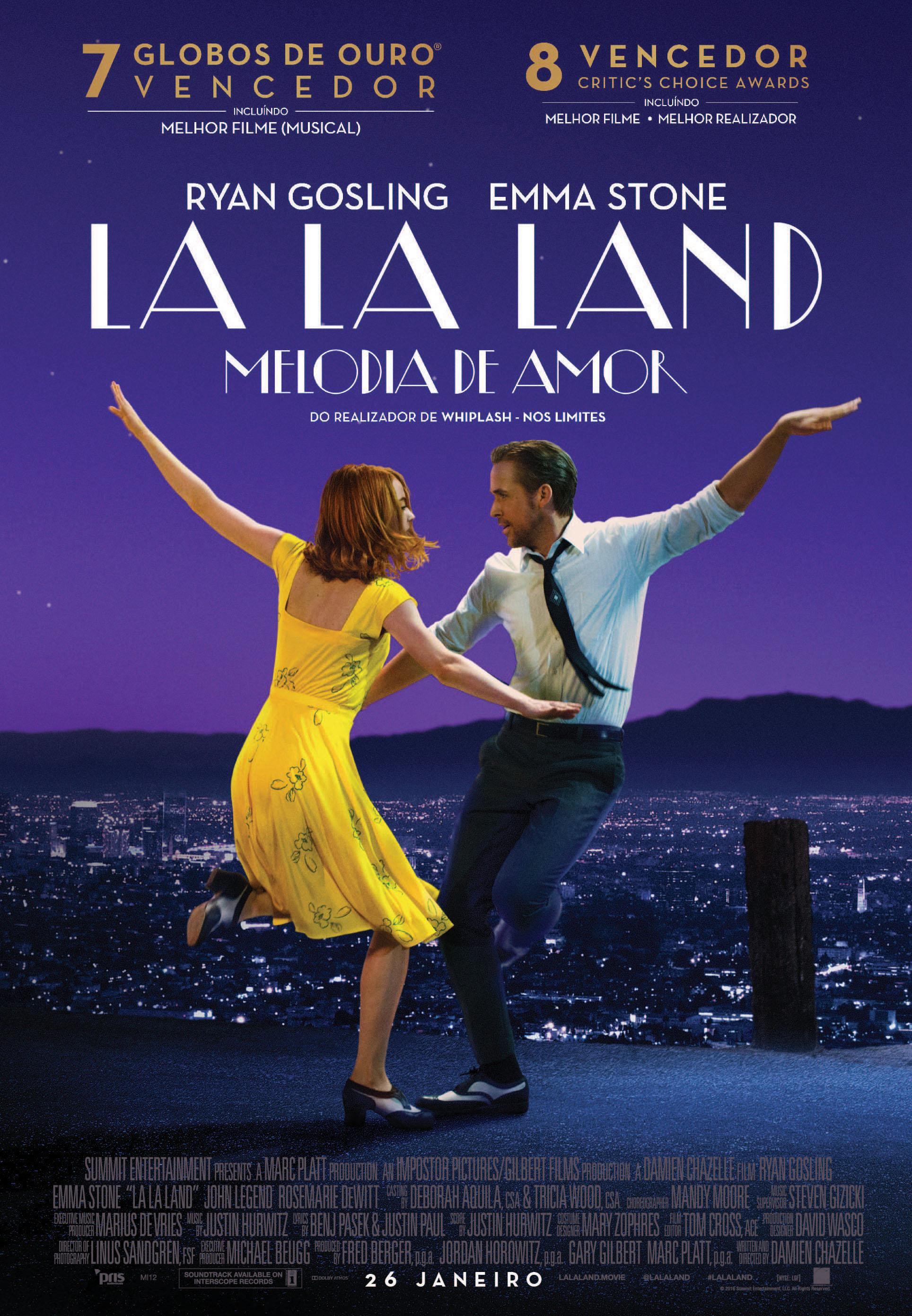 La La Land: Melodia de Amor: Ganhe convites para antestreias exclusivas