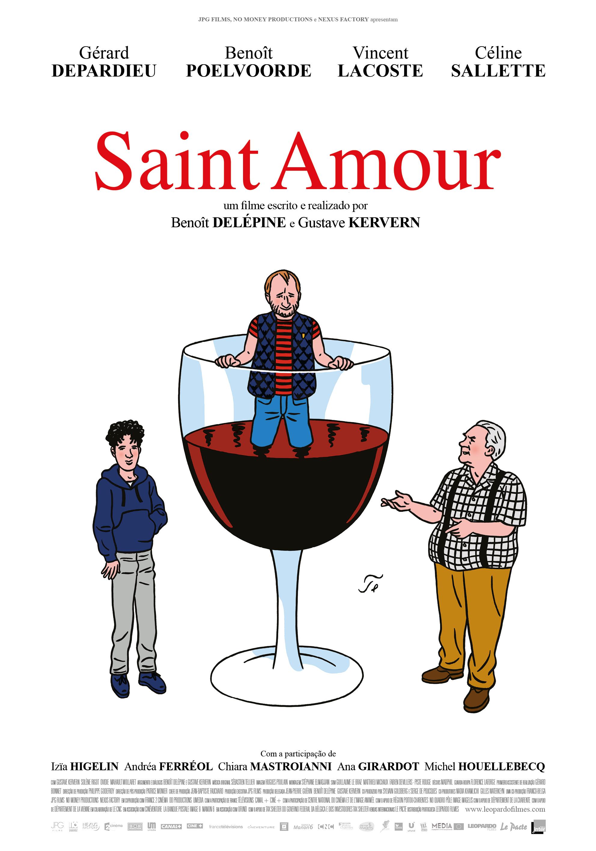 Saint Amour: Ganhe convites para antestreia