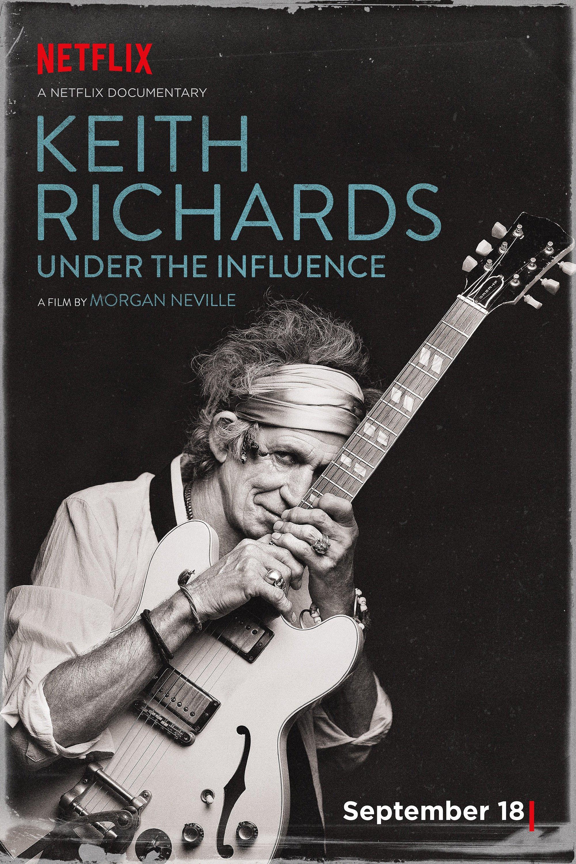 Keith Richards: Under the Influence: Ganhe convites para a sessão