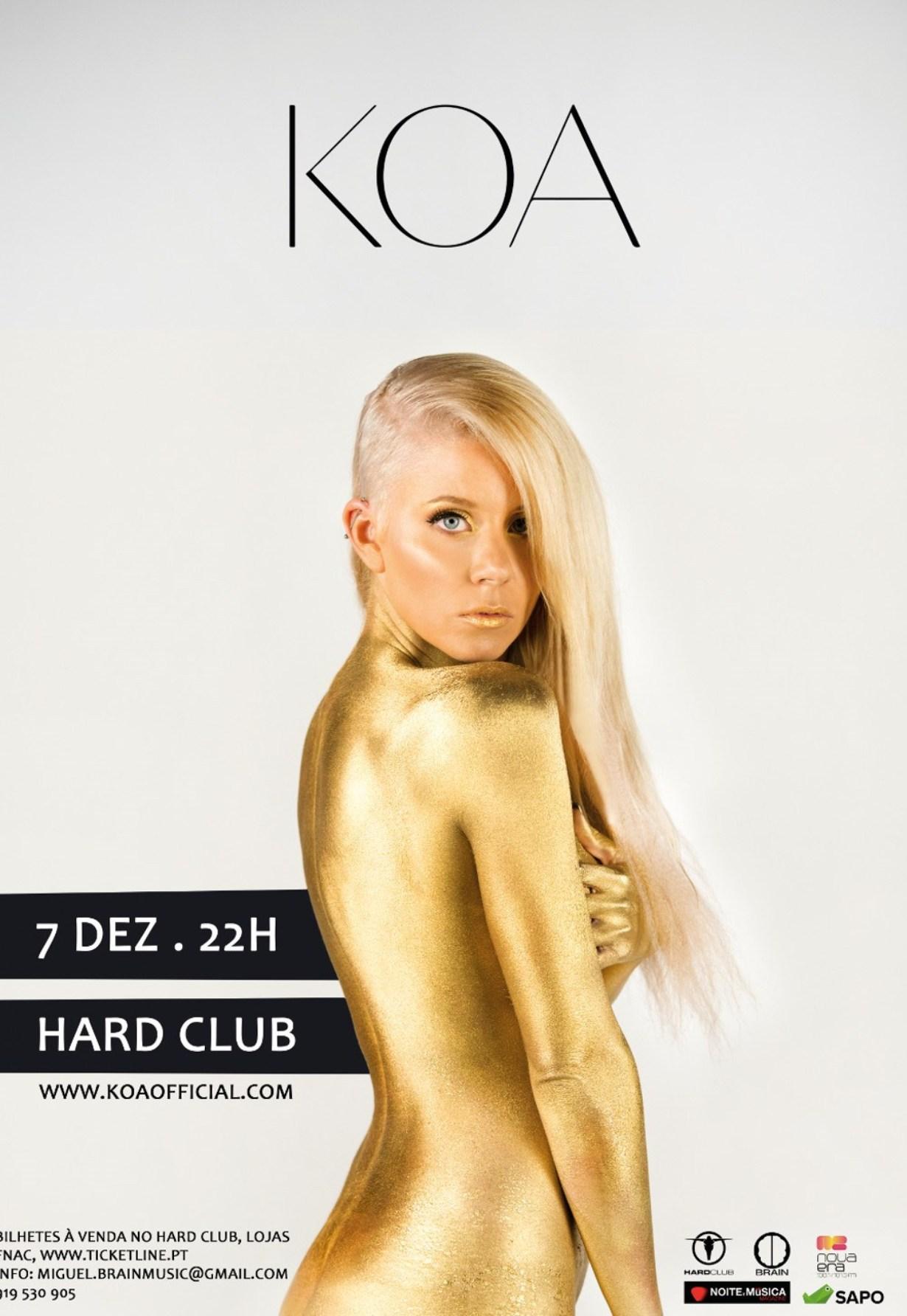 KOA no Hard Club: Ganhe convites para o concerto