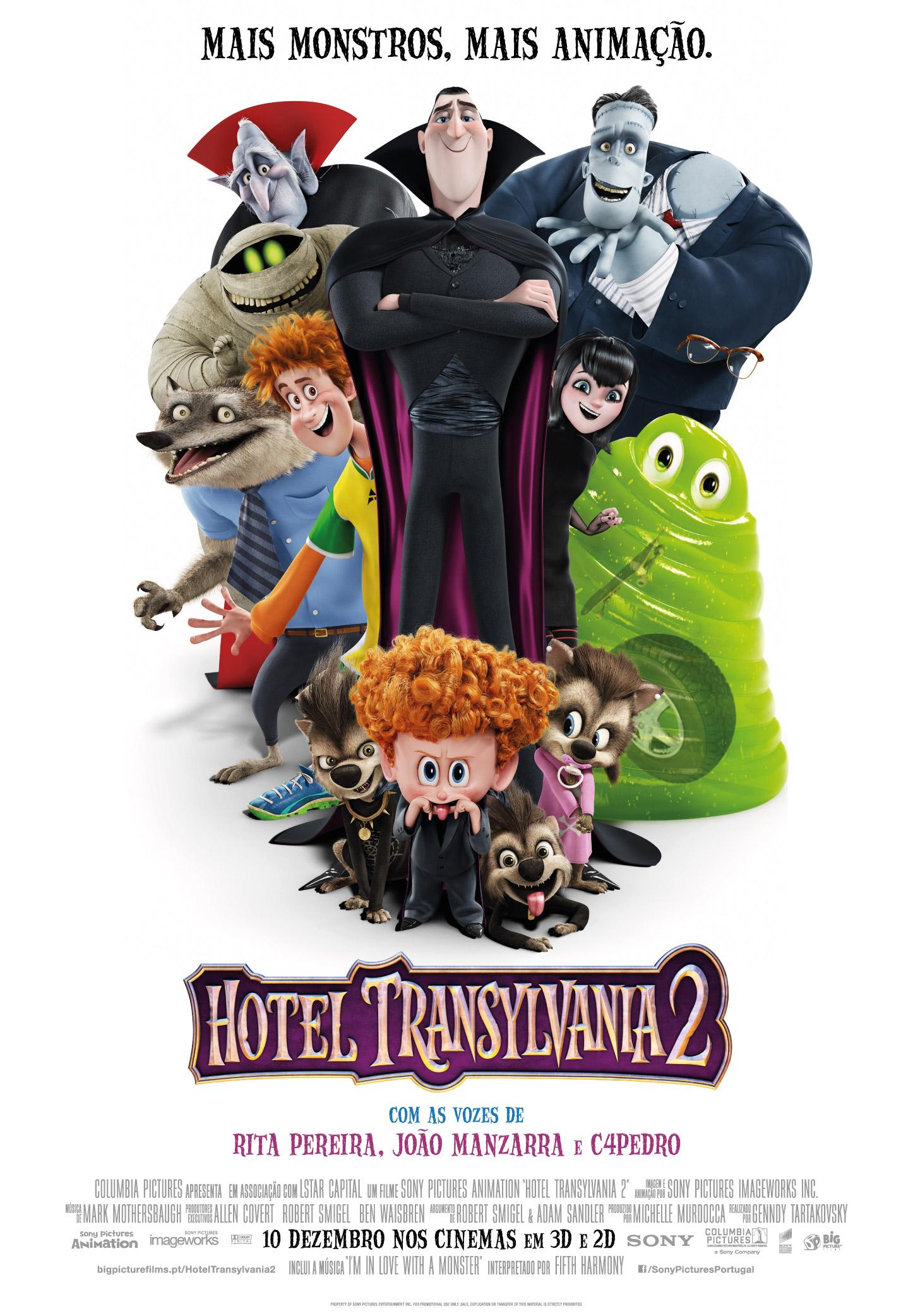 Hotel Transylvania 2: Ganhe convites para as antestreias