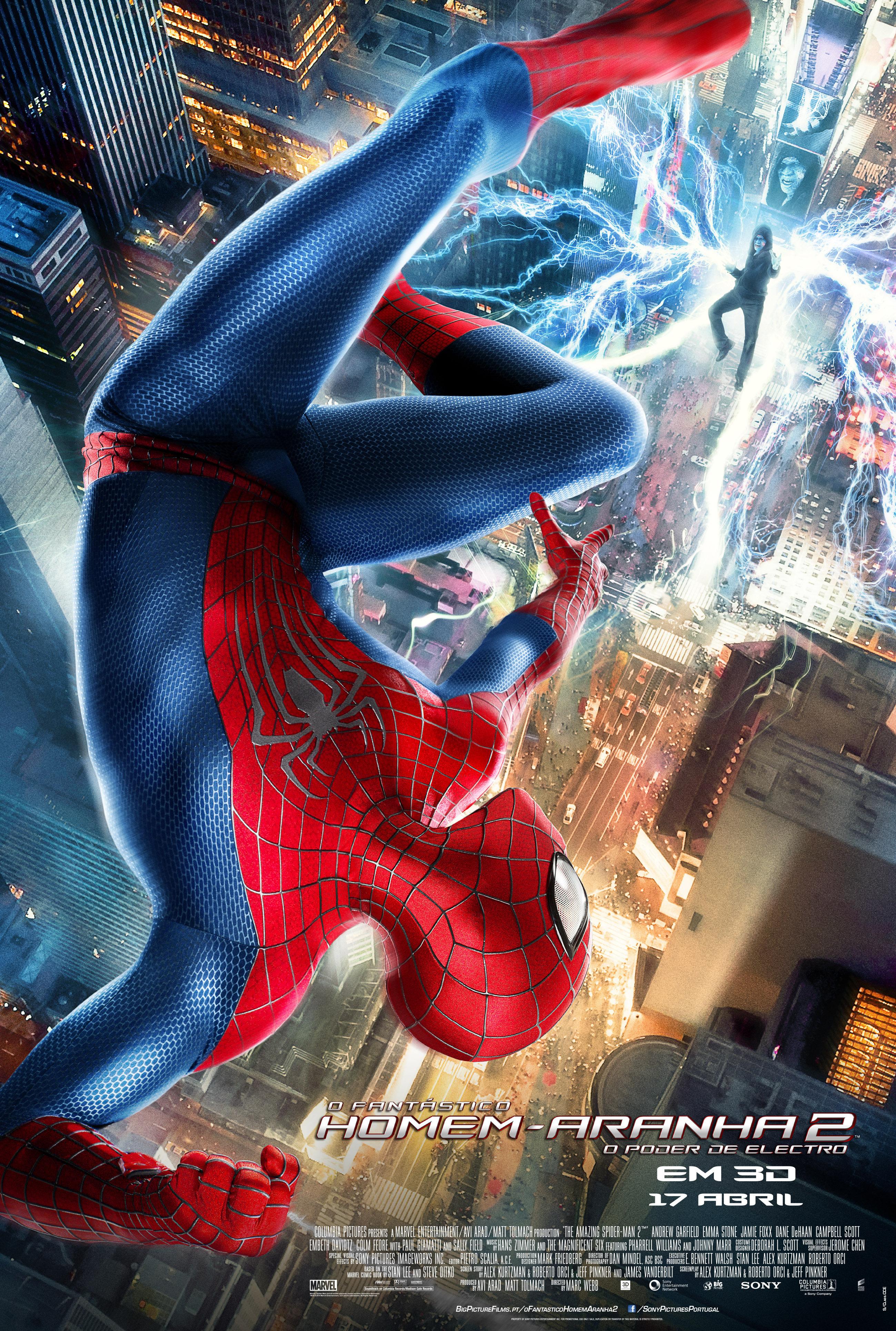 Посмотреть новый человек паук высокое напряжение 3 фотография