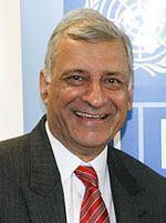 Kamalesh Sharma, o representante do Secretário-geral da ONU em Timor-leste.