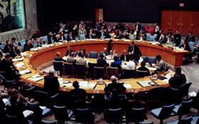 O Conselho de Segurança das Nações Unidas realiza uma reunião sobre a situação no Timor Leste.