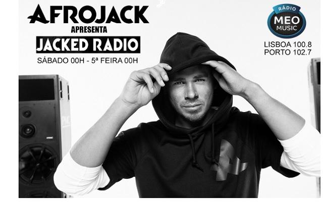 Afrojack na Rádio MEO Music