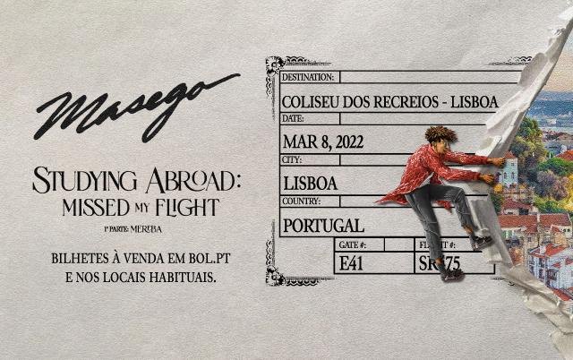 MASEGO Ao Vivo em Portugal
