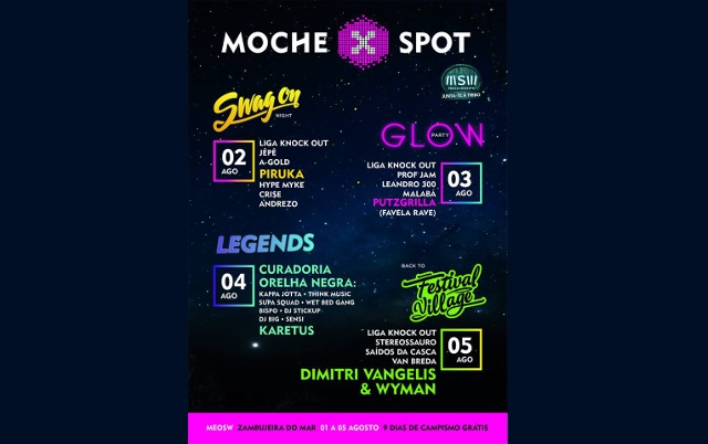 Novo palco: MOCHE X SPOT