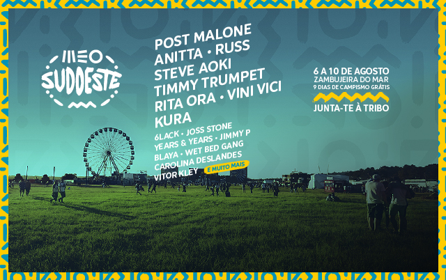 É o maior Festival de Verão