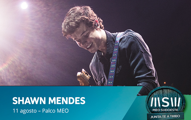 Shawn Mendes no MEO Sudoeste