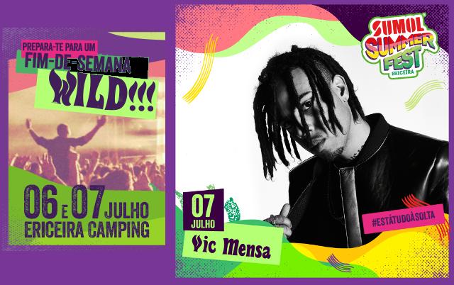 Vic Mensa no Sumol Summer Fest