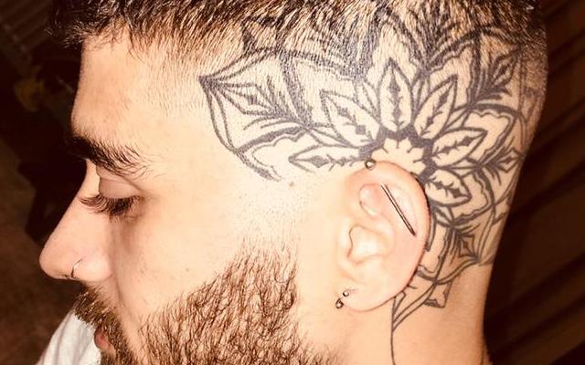 Zayn Malik surpreendeu com nova tatuagem
