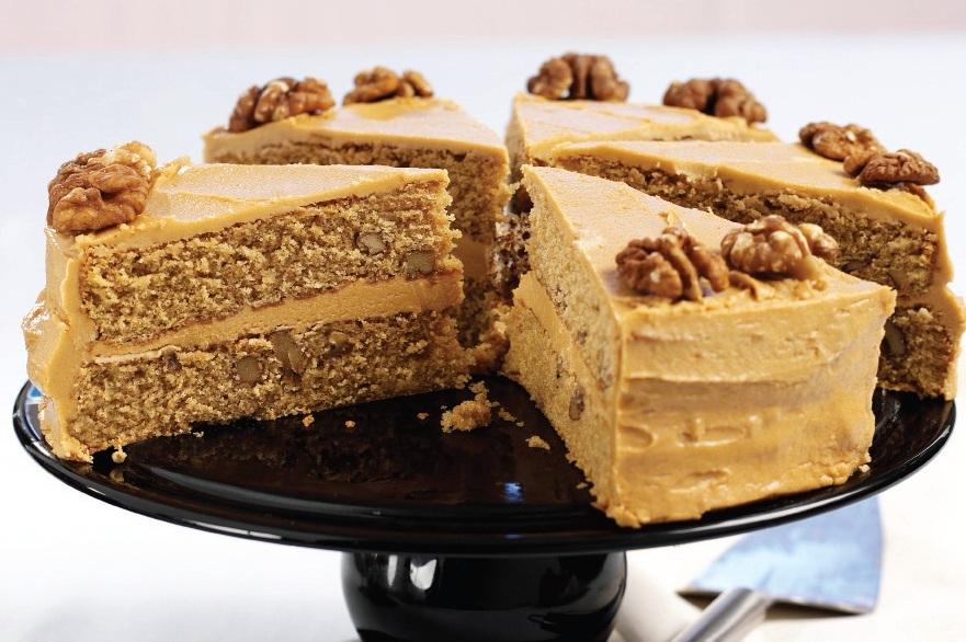 receitas  bolo de caf u00e9 e nozes