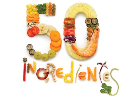 50 ingredientes saudáveis