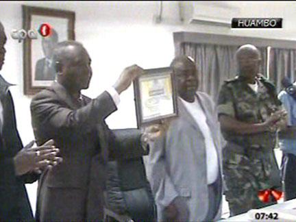 Huambo:Inaugurada a  Caixa Social de Segurança das FAA