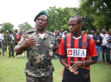 geraldo promete humildade e trabalho na equipa militar desporto