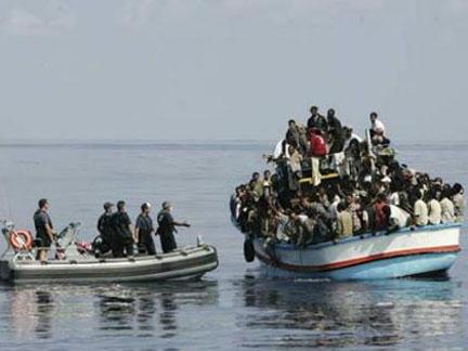 Itália: Capturados imigrantes ilegais