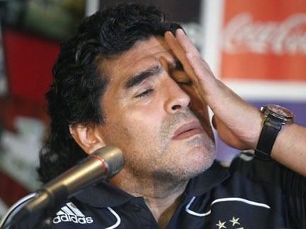 Maradona despedido do Al-Wasi