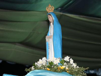 Réplica da imagem da Nossa Senhora da Muxima vai à Argentina