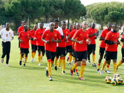 Palancas Negras preparam o amistoso de amanhã contra Moçambique