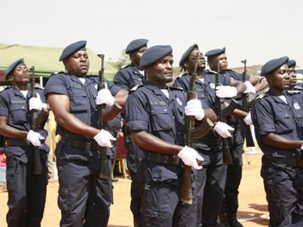 Efectivos da Polícia Nacional terminam formação