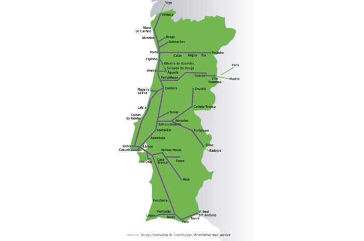 Mapa CP Arena Altice