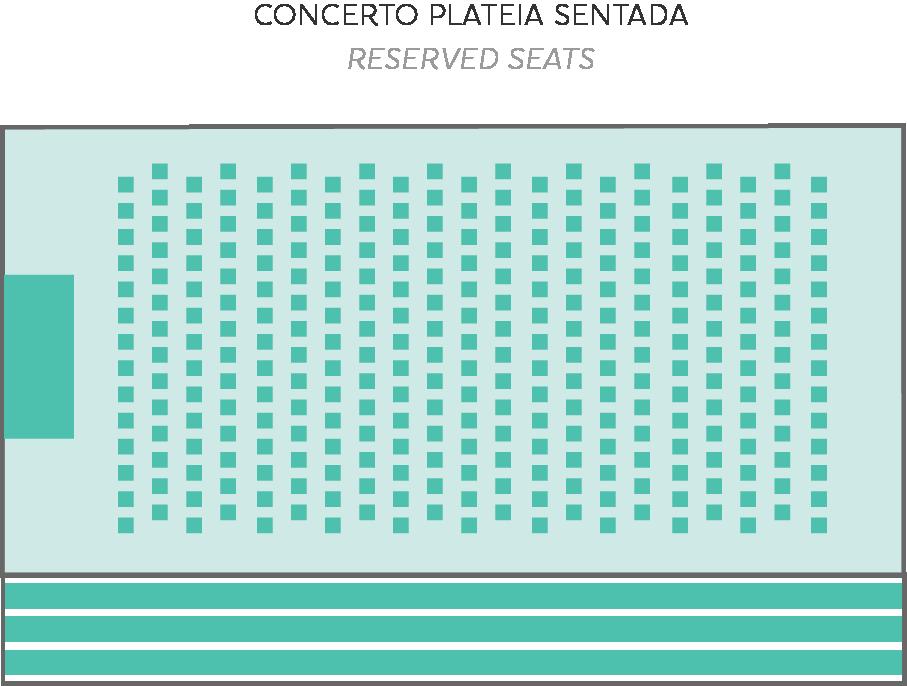 Plateia Sentada - Sala Tejo