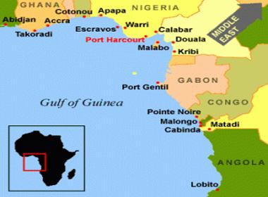 golfo da guiné mapa Comissão do Golfo da Guiné aborda governação no interesse da paz e  golfo da guiné mapa